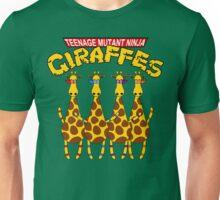 Teenage Mutant Ninja Giraffes Unisex T-Shirt