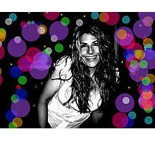 Katie in acidland Photographic Print