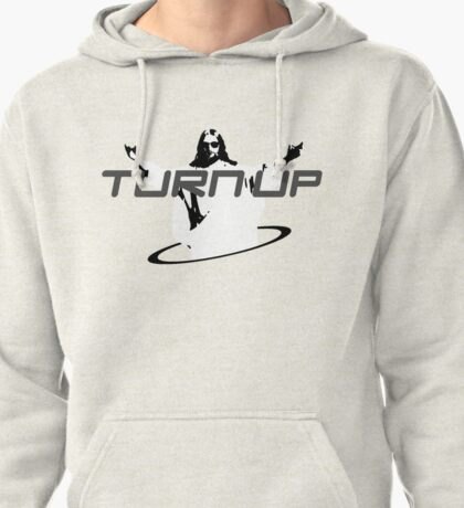 Turn Up for Jesus Pullover Hoodie