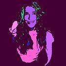 Psychedelic Katie by carlguitar69