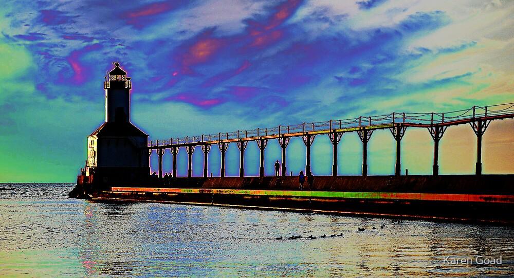 Michigan City Lighthouse by Karen Goad