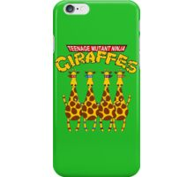 Teenage Mutant Ninja Giraffes iPhone Case/Skin