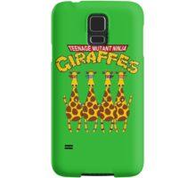 Teenage Mutant Ninja Giraffes Samsung Galaxy Case/Skin