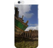 Old boat wrecks iPhone Case/Skin