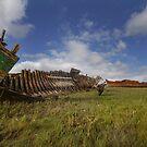 Old boat wrecks by eddiej