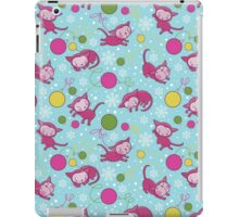 Christmas Kitties Pattern and another Spasial CAT with the Christmas tree. iPad Case/Skin