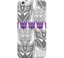 The Iconic Decepticons (white) iPhone Case/Skin