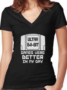 Gaming Women's Fitted V-Neck T-Shirt