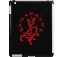 12 Monkeys - Terry Gilliam - Red on Black iPad Case/Skin