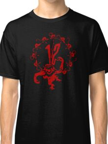12 Monkeys - Terry Gilliam - Red on Black Classic T-Shirt