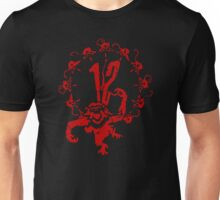 12 Monkeys - Terry Gilliam - Red on Black Unisex T-Shirt