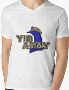 The Yid Army - Tottenham's Faithful Fans Mens V-Neck T-Shirt