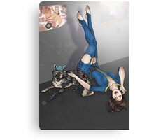 K9 UNT and Pin-Up Canvas Print