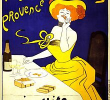 'Amandines de Provence' by  Leonetto Cappiello (Reproduction) by Roz Abellera Art Gallery