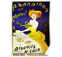 'Amandines de Provence' by  Leonetto Cappiello (Reproduction) Poster