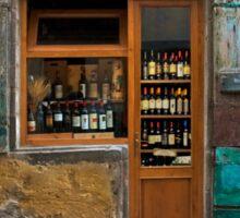 Tuscany wine shop Sticker