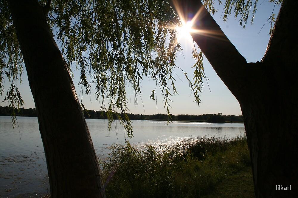 Setting Sun  by lilkarl