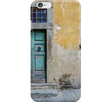 Tuscany door iPhone Case/Skin