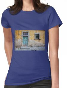 Tuscany door Womens Fitted T-Shirt