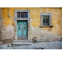 Tuscany door Photographic Print
