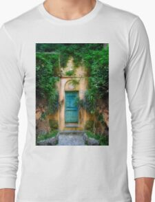 Tuscany doorway Long Sleeve T-Shirt