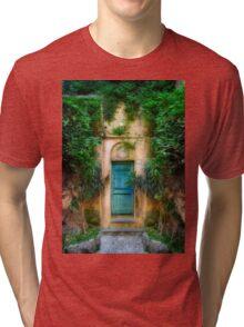 Tuscany doorway Tri-blend T-Shirt