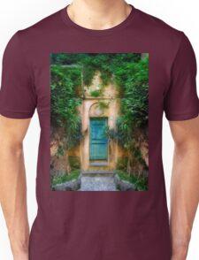 Tuscany doorway Unisex T-Shirt