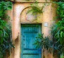 Tuscany doorway Sticker