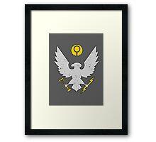 Spartan Insignia Framed Print