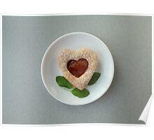 cookies heart Poster
