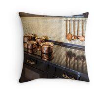 Interior of modern luxury kitchen Throw Pillow