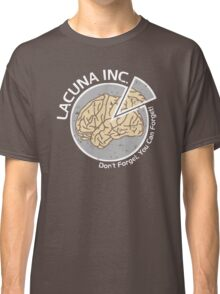 Lacuna Inc. logo from Eternal Sunshine of the Spotless Mind Classic T-Shirt