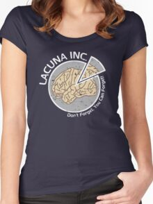 Lacuna Inc. logo from Eternal Sunshine of the Spotless Mind Women's Fitted Scoop T-Shirt