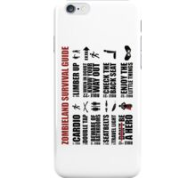 Zombieland Survival Guide iPhone Case/Skin