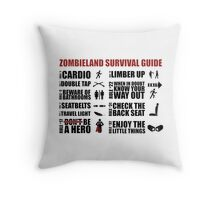 Zombieland Survival Guide Throw Pillow