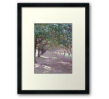 walk the loney path... Framed Print