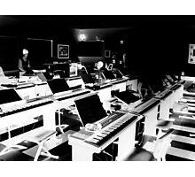 Piano Lab Photographic Print
