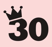 Crown 30th birthday Kids Clothes