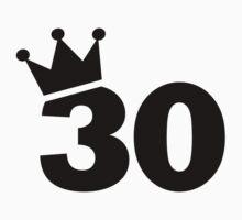 Crown 30th birthday by Designzz