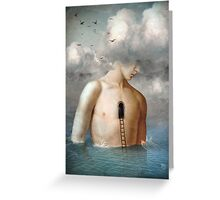 the door to the clouds Greeting Card