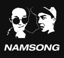 SONG MINHO X NAM TAEHYUN - NAMSONG T-SHIRT  by afterdark88