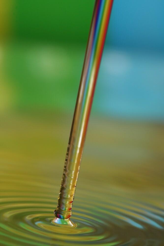 Rainbow Ripples by Kurt Hawkins