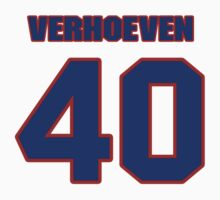 Basketball player Pete Verhoeven jersey 40 by imsport