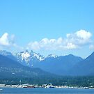 North Vancouver Mountain View  - North Vancouver BC Canada by Hiroko