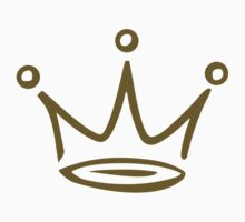 Crown gold Kids Clothes