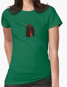 DK and Diddy (small print) Womens Fitted T-Shirt