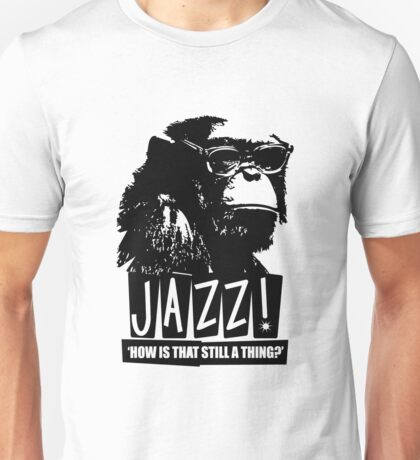 Jazz Chimp Unisex T-Shirt