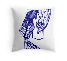 Asian Caucasian - Series 1 Throw Pillow