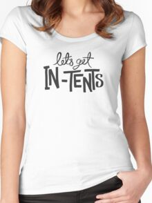 Let's Get In-Tents Women's Fitted Scoop T-Shirt