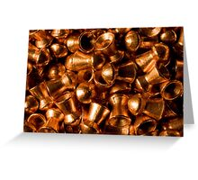 Coats of Copper Greeting Card